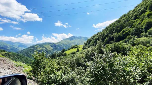 Reisen Sie in die Bergregion von Georgien – Foto
