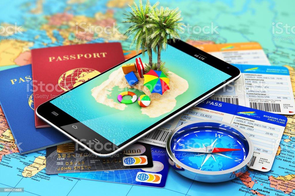 Travel, tourism, holidays and vacations concept zbiór zdjęć royalty-free
