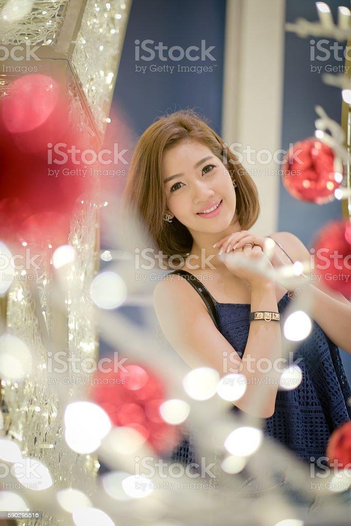 Travel tourist woman On a bright day, royaltyfri bildbanksbilder