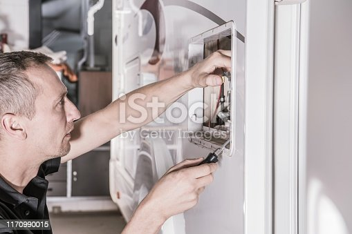 istock Travel Trailer Heating Repair 1170990015