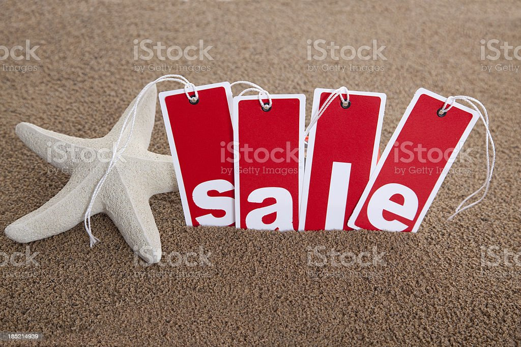 Travel Vacation Sale Event royalty-free stock photo