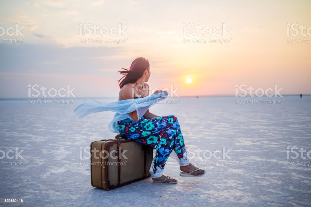 Blick auf Reisen Lizenzfreies stock-foto