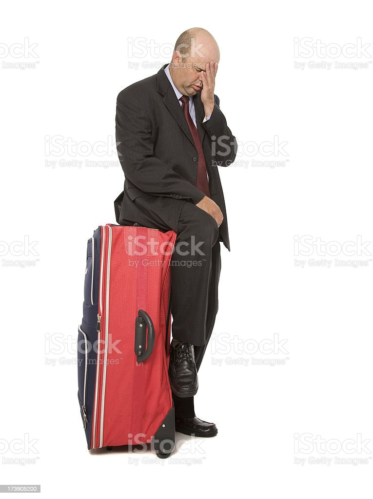 Travel Woes royalty-free stock photo