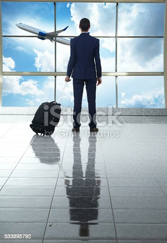 509630674 istock photo traveler in airport 533895792
