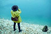 istock Traveler Looks at Landscape 1073229702
