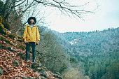 istock Traveler Looks at Landscape 1073229932