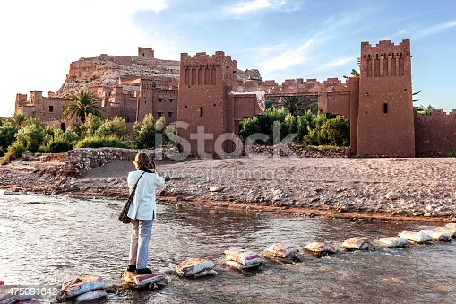 872393896istockphoto Traveler photographing evening Aït Ben Haddou,  Morocco, North Africa 475091842