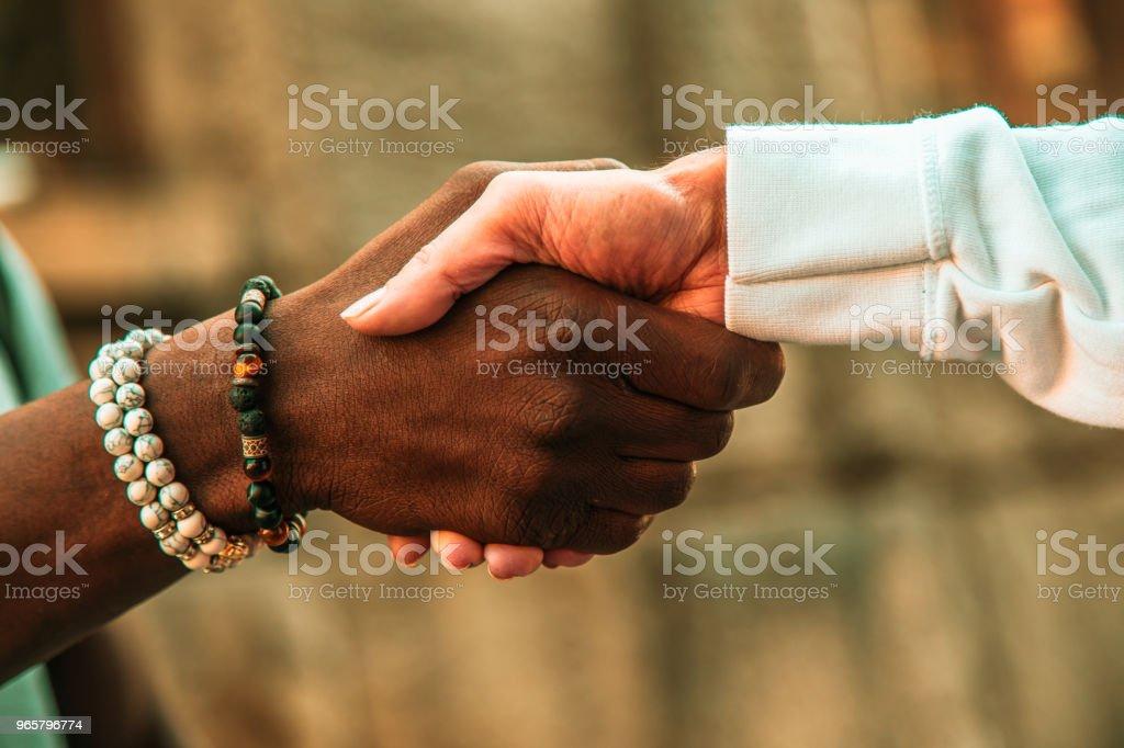 reiziger - Royalty-free Afro-Amerikaanse etniciteit Stockfoto