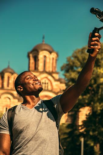 Reiziger Stockfoto en meer beelden van Afro-Amerikaanse etniciteit