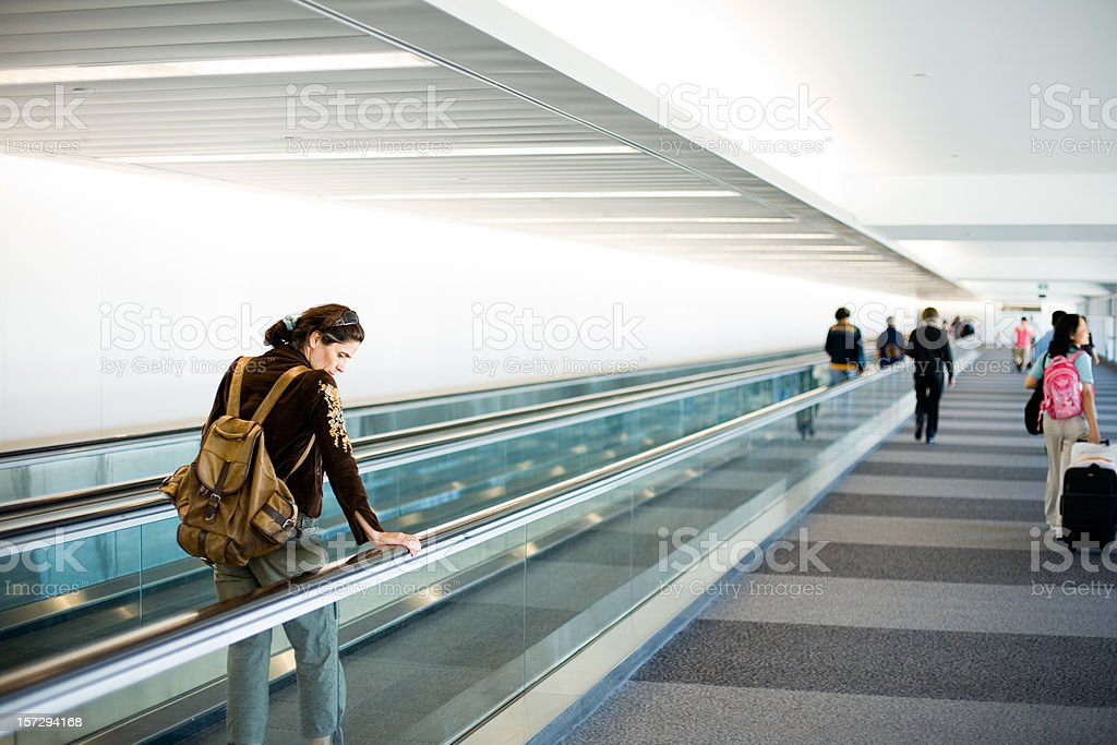 Travelers stock photo