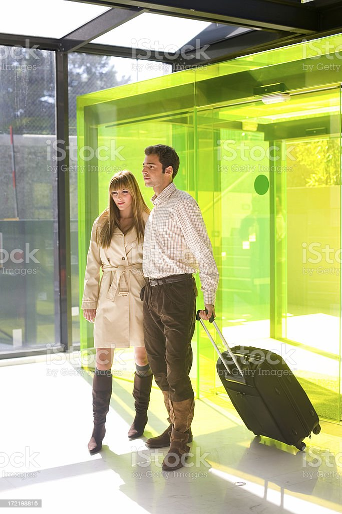 Travelers royalty-free stock photo