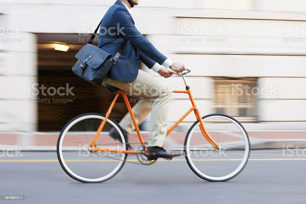 Traveling by bike stock photo