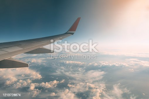 155439315 istock photo Traveling by plane 1213728874