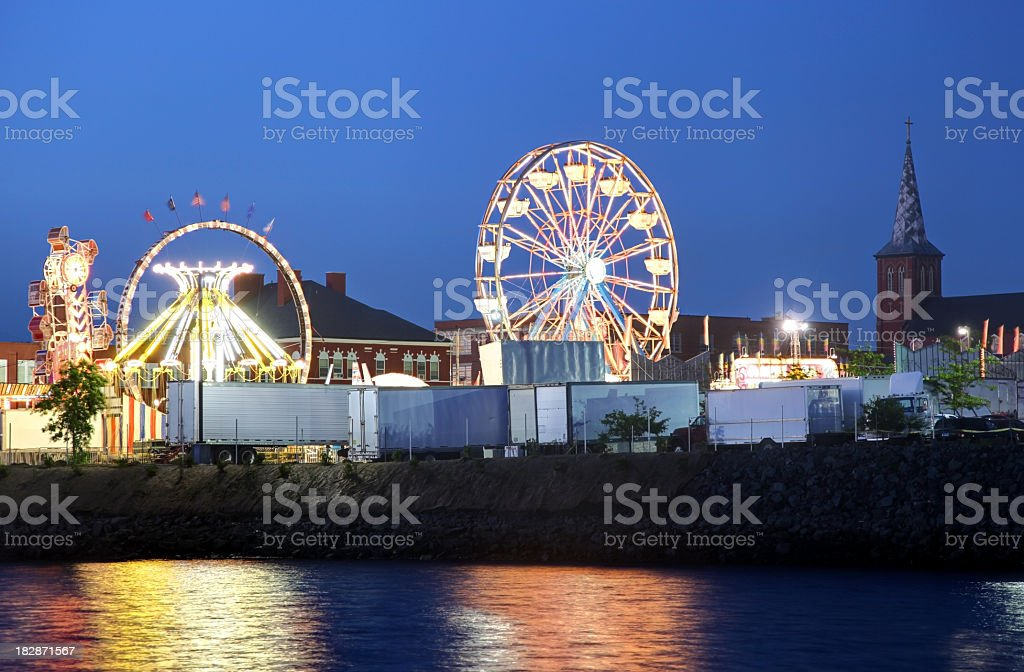 Traveling Carnival stock photo