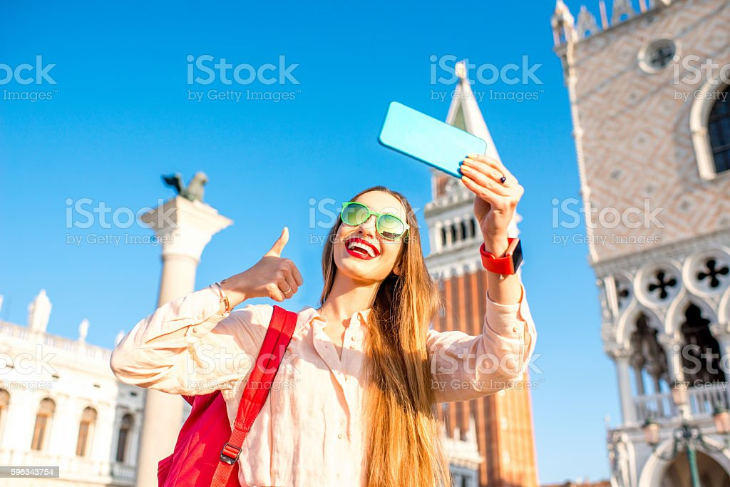 Traveling in Venice royalty-free stock photo