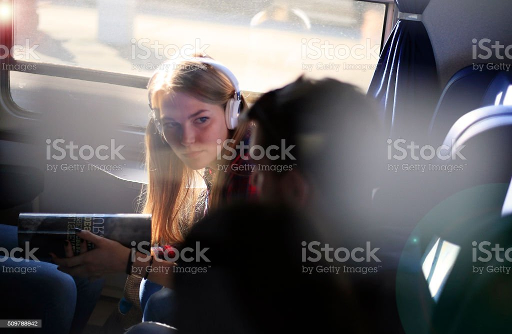 Traveling is Mysteriously You never Know Who is Near You stock photo