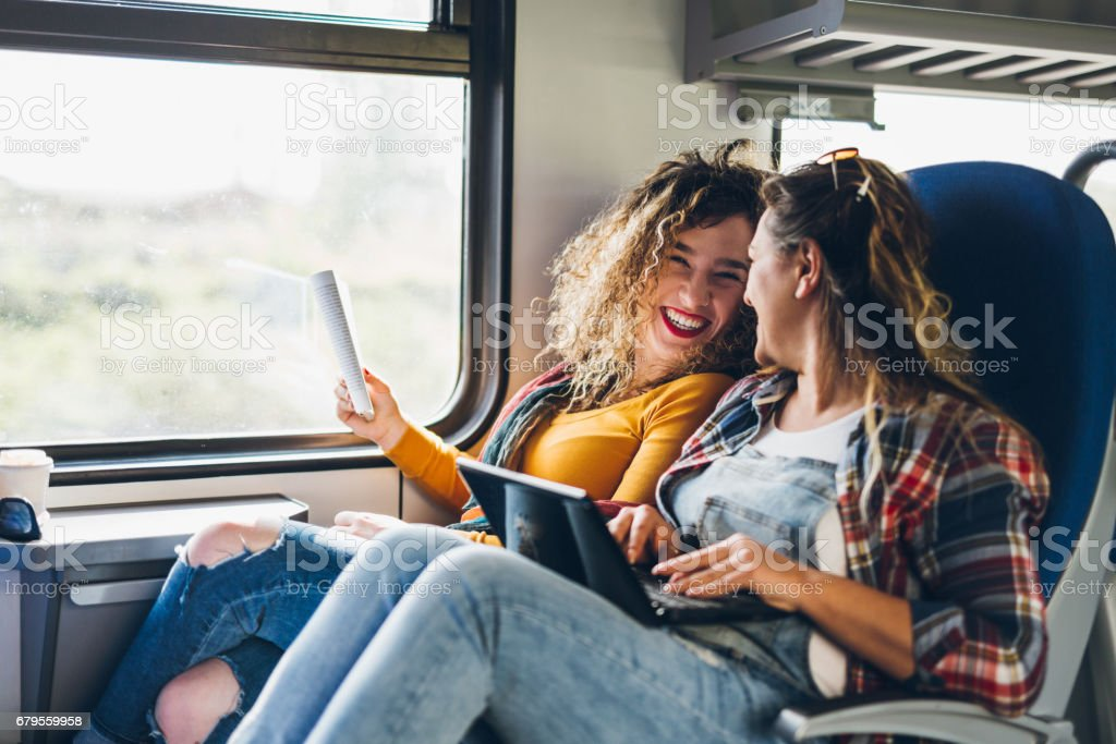 Traveling is so exciting stock photo