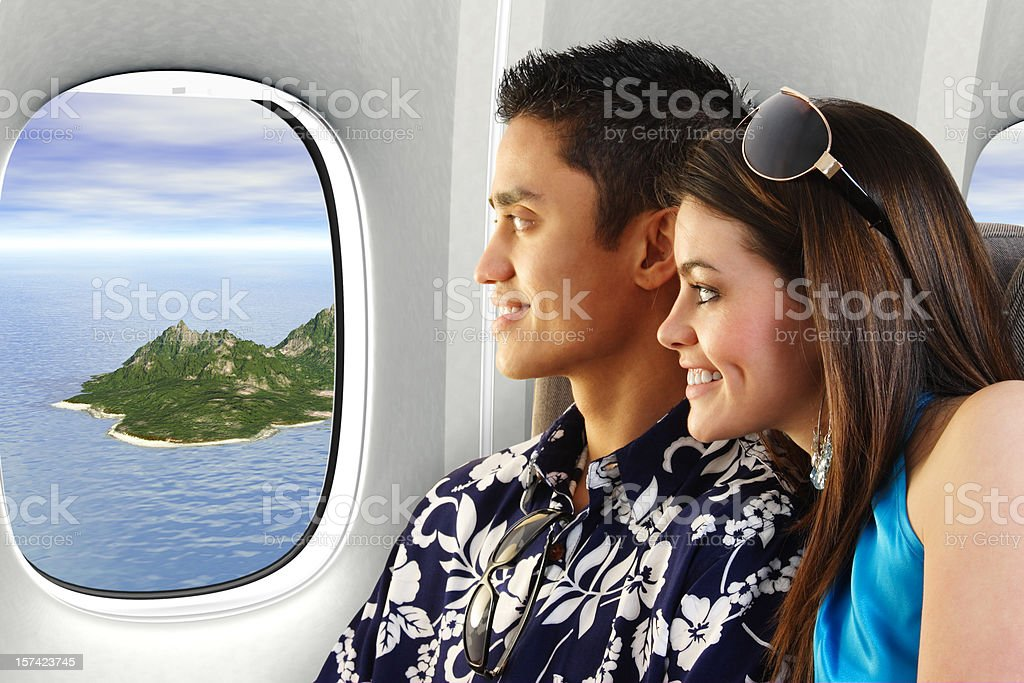 Traveling On Vacation royalty-free stock photo