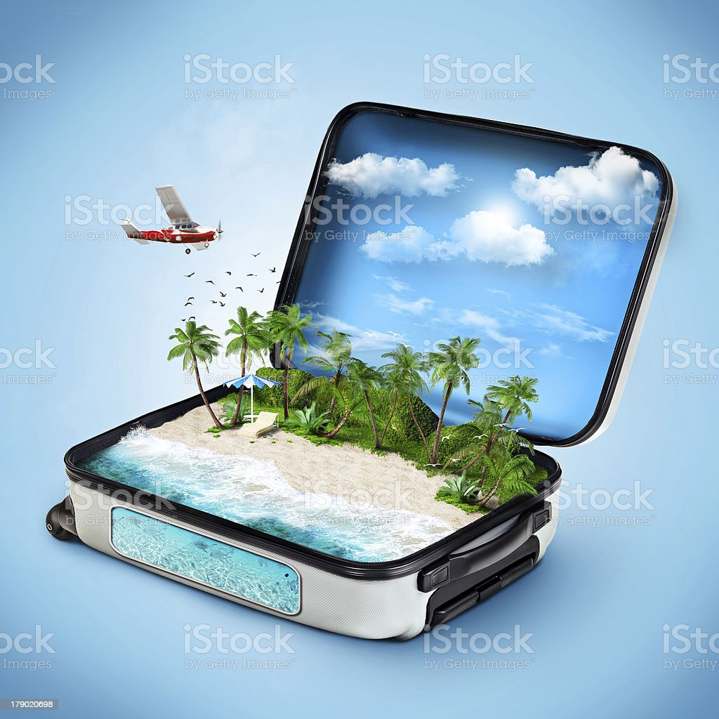 Traveling stock photo