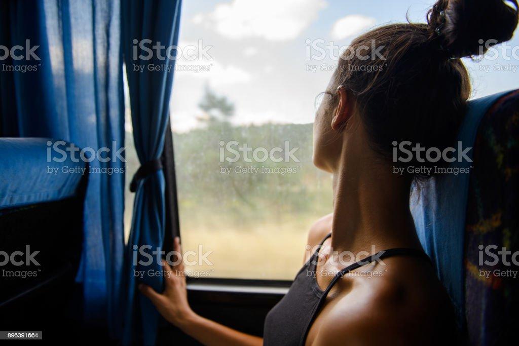 Traveling. stock photo
