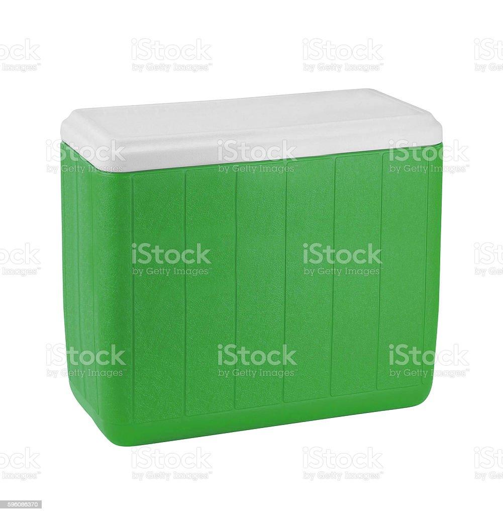 Traveling refrigerator royalty-free stock photo