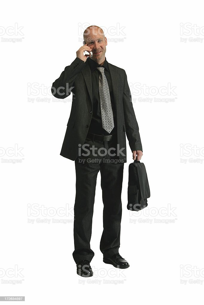 Traveling salesman royalty-free stock photo