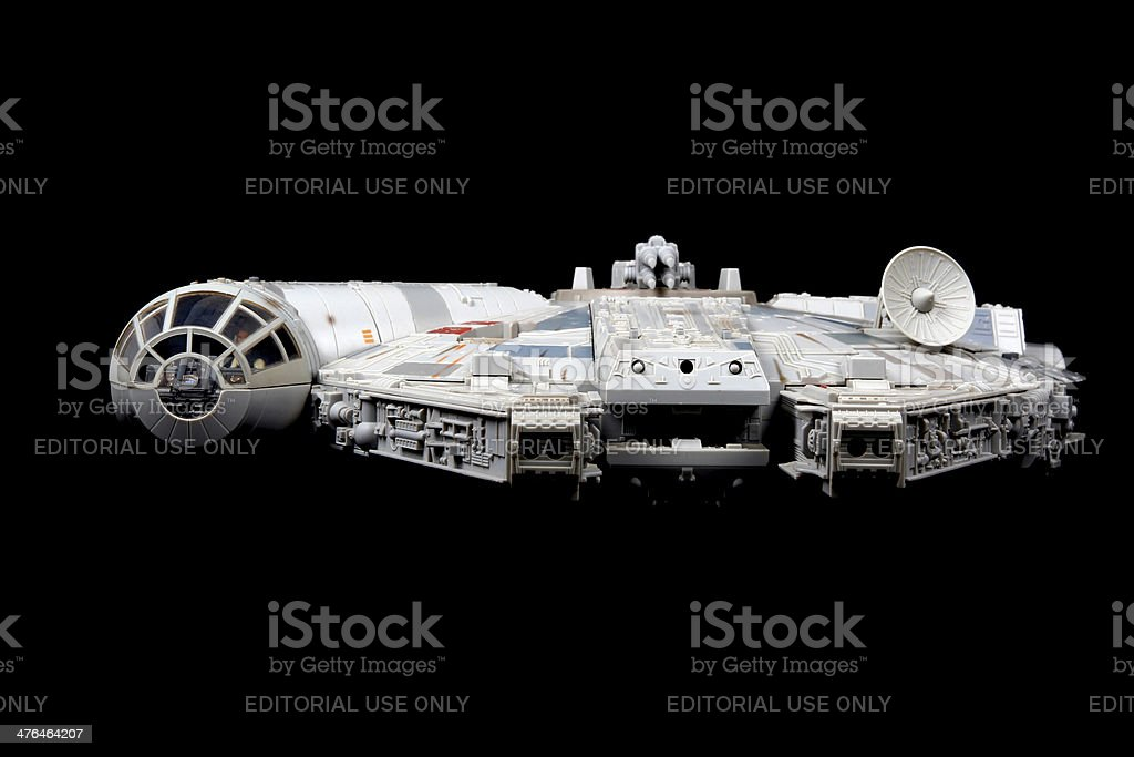 Traveling Through Hyperspace Ain't Like Dusting Crops royalty-free stock photo