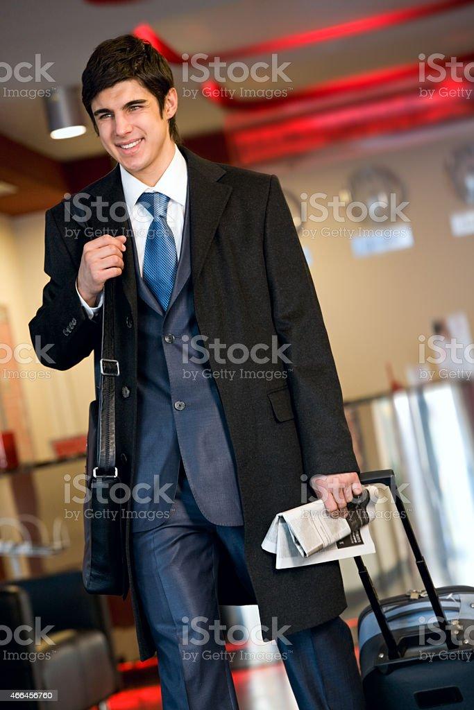 Traveller Lizenzfreies stock-foto