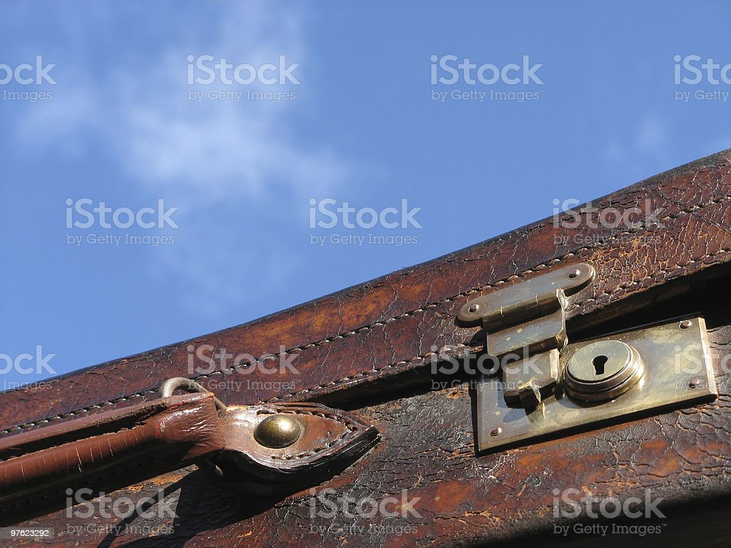 Traveller royalty-free stock photo