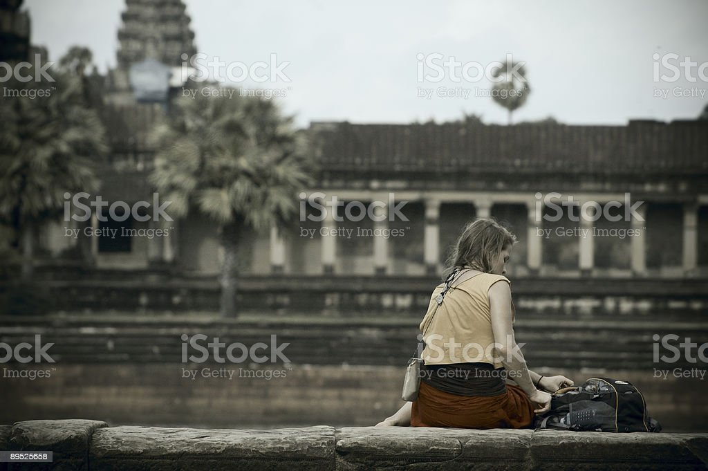 Travelling in Siem Reap royalty-free stock photo