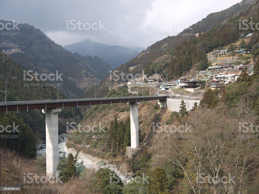 Travelling on Shikoku stock photo