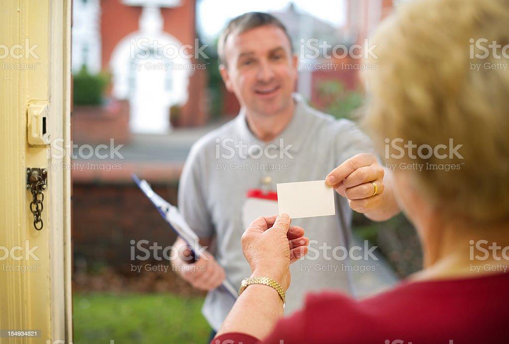 travelling salesman stock photo