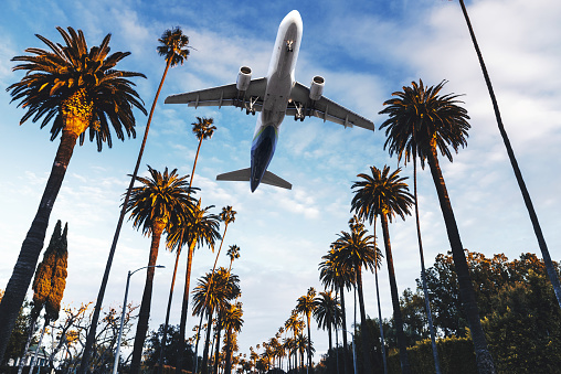 travelling to los angeles