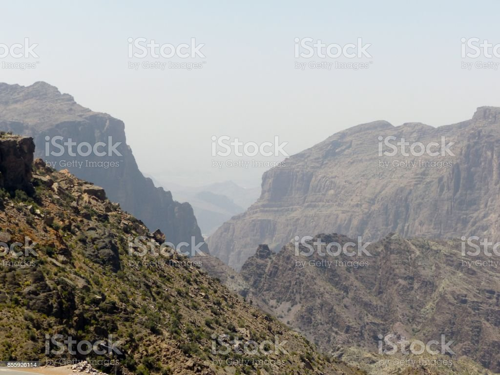 Travelling to Middle East stock photo
