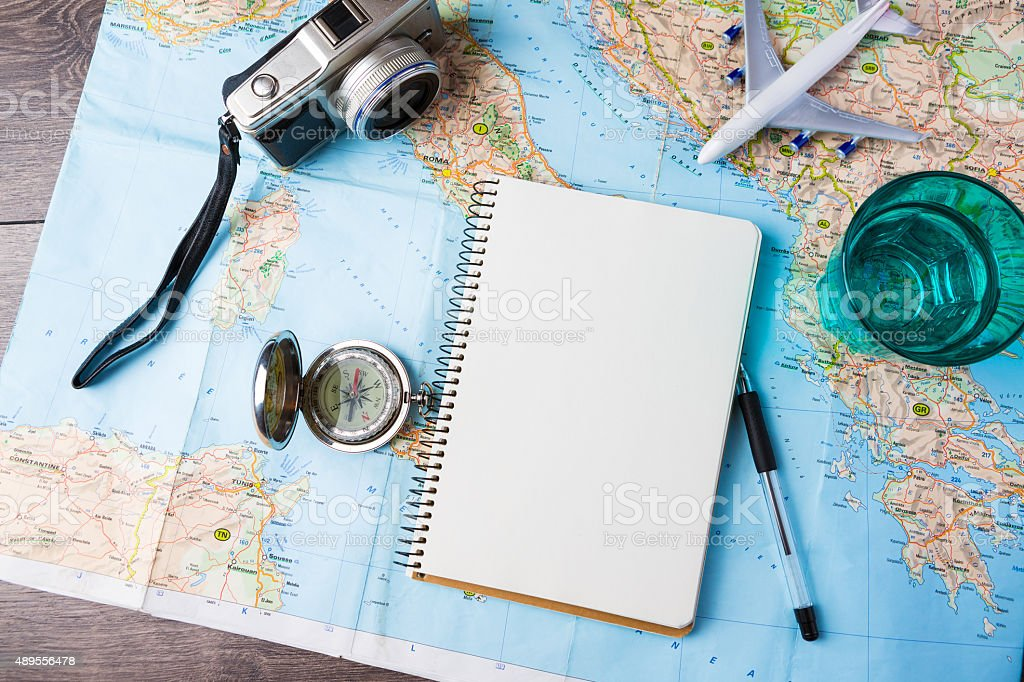 Travelling tools royalty-free stock photo