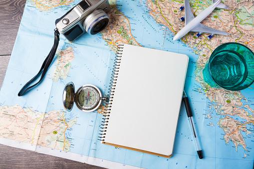 Travel destination stock photos