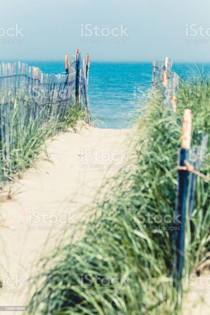Sable de À travers les dunes. - Photo