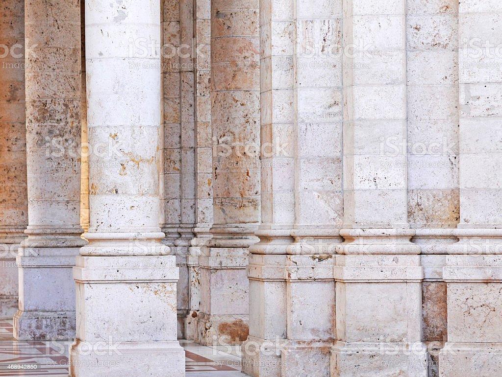travertin piliers - Photo