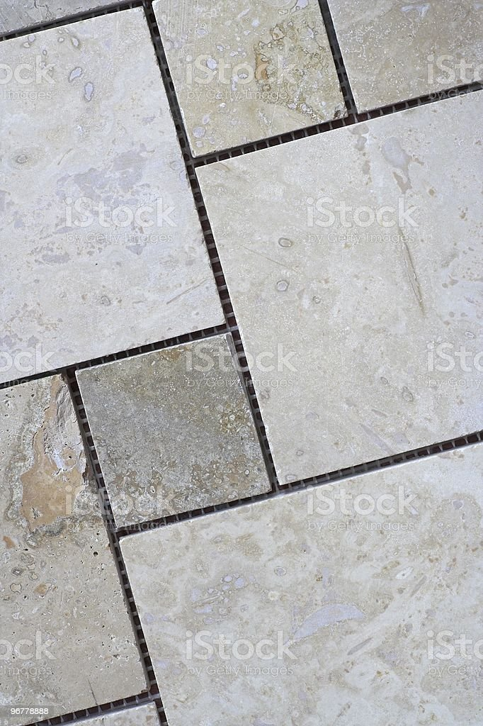Travertine Tile Arrangement Stock Photo & More Pictures of Abstract ...