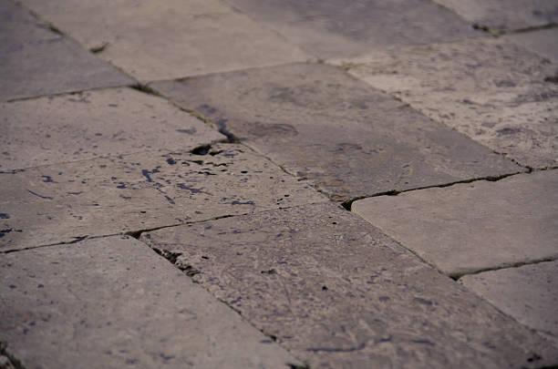 Travertine tile stock photo