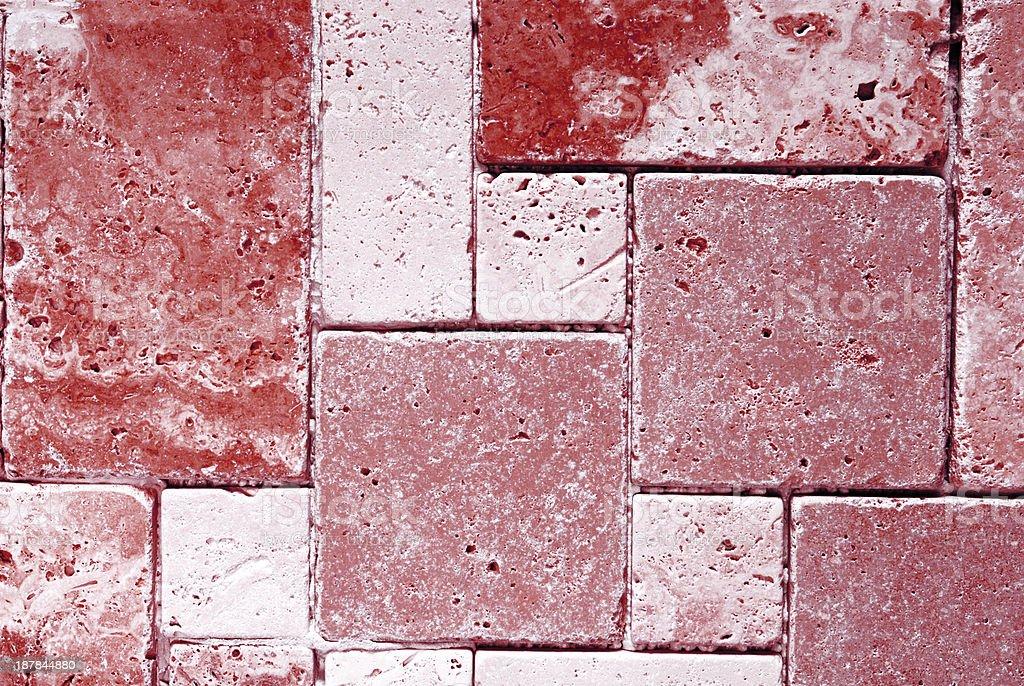 Sfondo texture piastrelle color travertino fotografie stock e
