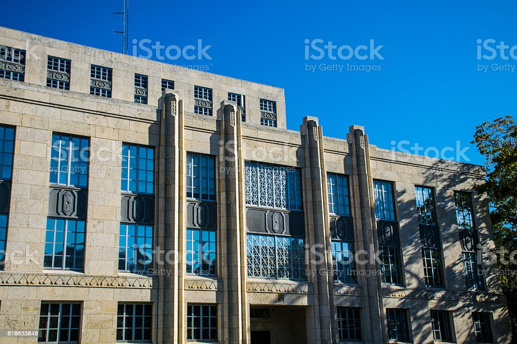 Travis County District Judge Office Austin Texas stock photo