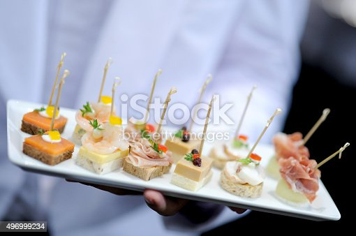 istock tray of appetizers 496999234