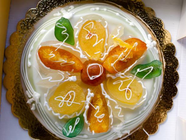 西西里島糕點託盤 - cassata 個照片及圖片檔