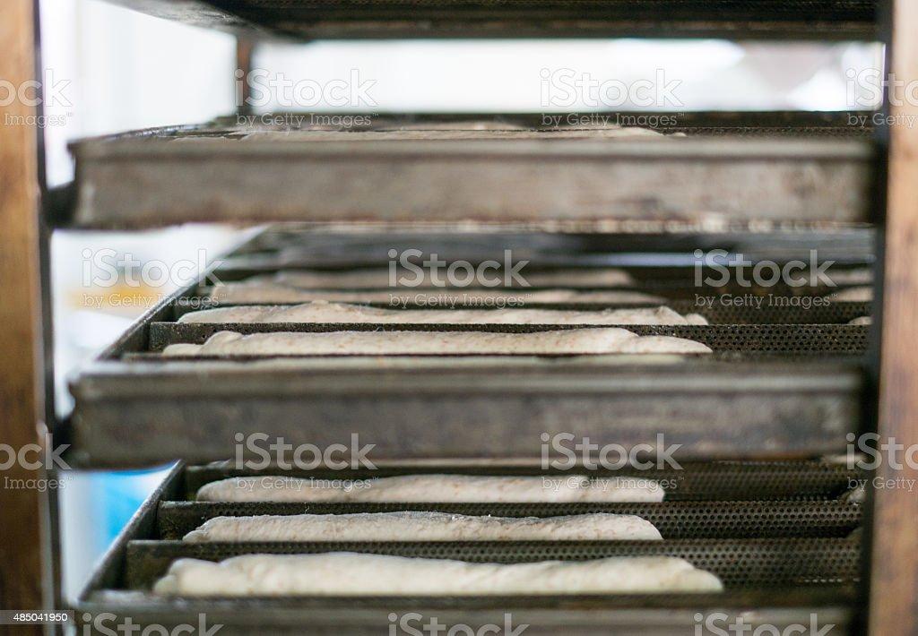 Tablett Rack weichen Rollen Teig – Foto