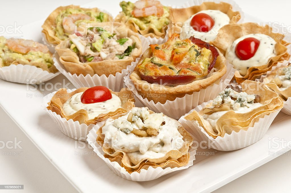 Tray with appetizers royalty-free stock photo