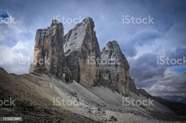 Photo of Tre Cime di Lavaredo (Drei Zinnen), Dolomites in Italy, Europe