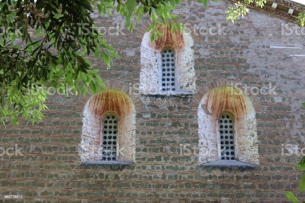 Tre Fontane Abadia em Roma - Foto de stock de Abadia - Mosteiro royalty-free