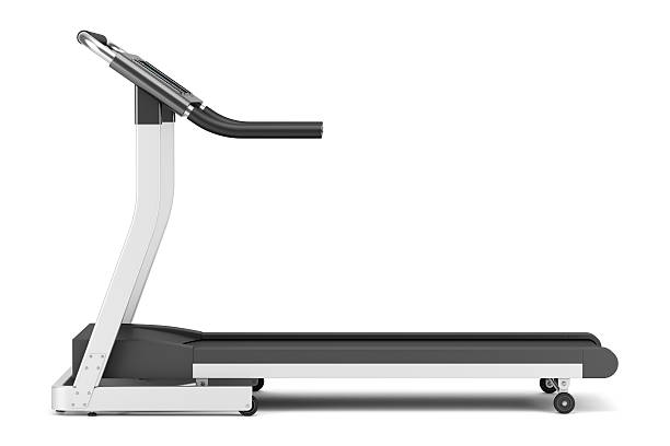 treadmill isolated on white background treadmill isolated on white background treadmill stock pictures, royalty-free photos & images