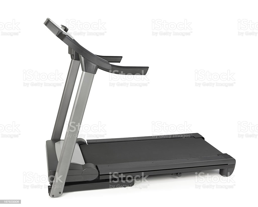Treadmill Isolated royalty-free stock photo